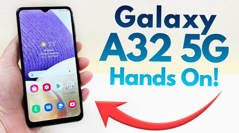 Samsung Galaxy A32 5G – Budget Smartphone Review!
